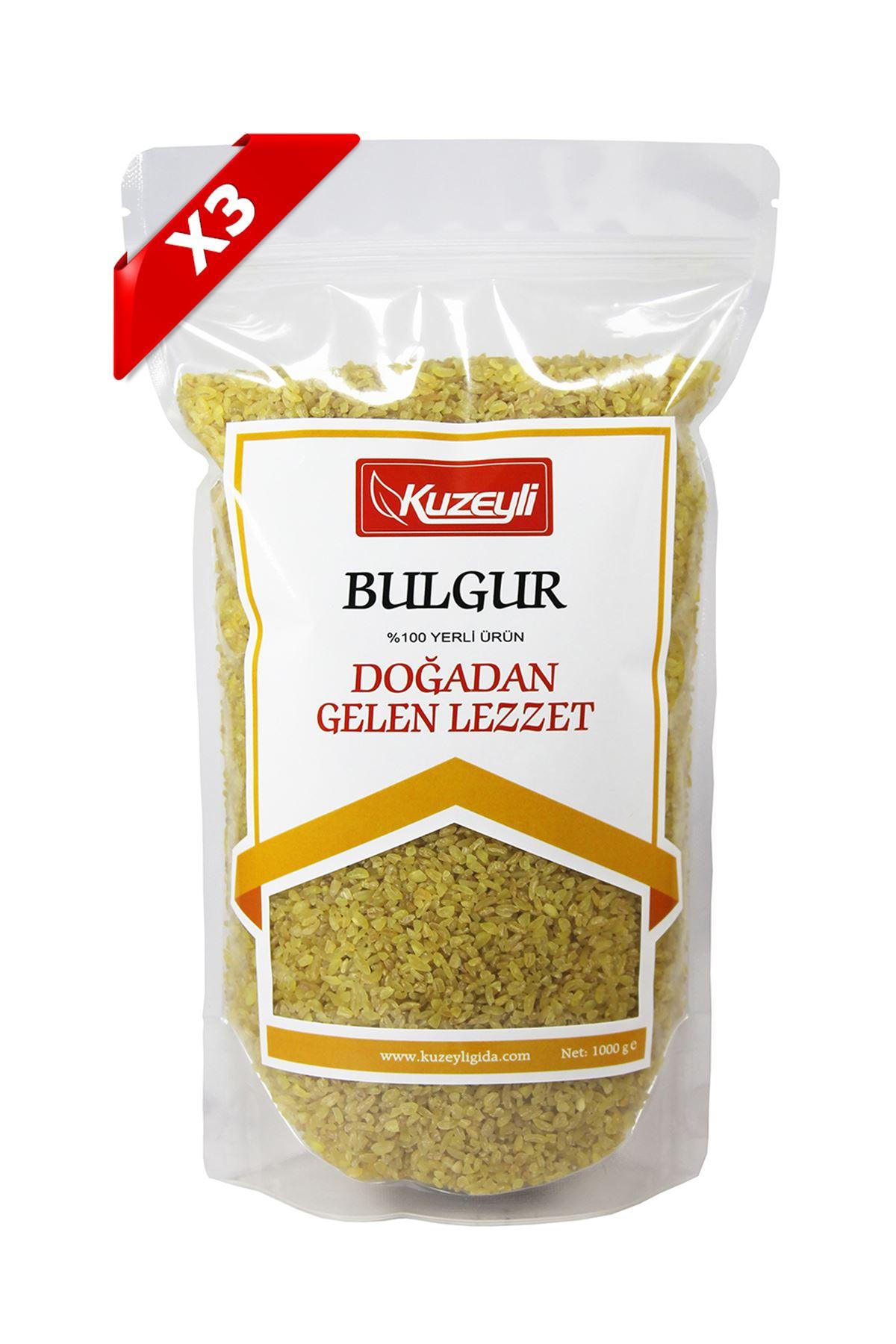 Bulgur Seti 3'Lü (3 Adet 1'Er Kg)